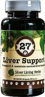 Silver Lining Herbs~ Natural Herbal Liver Support ~ Milk Thistle, Turmeric, Yerba Santa, Oregon Grape, Dand...