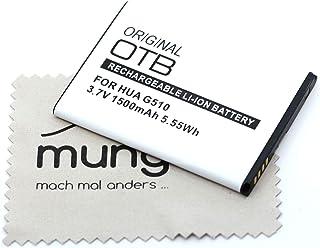 Batería de repuesto para Huawei Ascend G510, Ascend G525, Ascend Y210, Ascend Y530 (Reemplaza la batería original HBW1H) O...