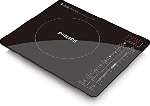 Philips Premium Collection Ultra-Thin Induction Cooker, 2100W, Black, HD4992/72