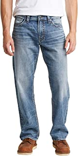 Silver Jeans Co. Men's Gordie Loose Fit Straight Leg Jeans
