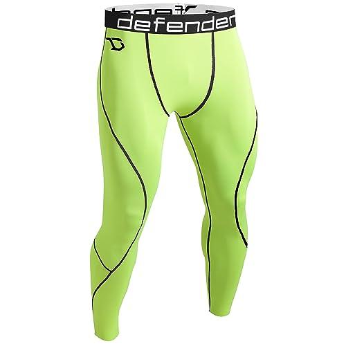 0e16aec6c2778 Defender Men's Compression Baselayer Pants Legging Shorts Shirts Tights  Running