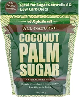 Focus Nutrition, XyloBurst Pure Unrefined Coconut Palm Sugar, Alternative Granulated Sweetener For Diabetics and Hypoglyce...