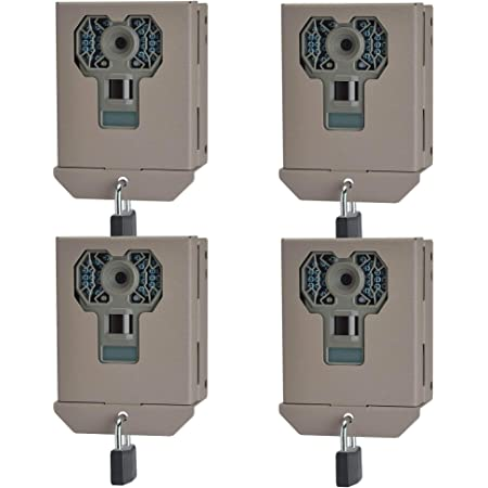 Stealth Cam Steel Security Trail Game Camera Bear Box for G Series Cams (4 Pack)