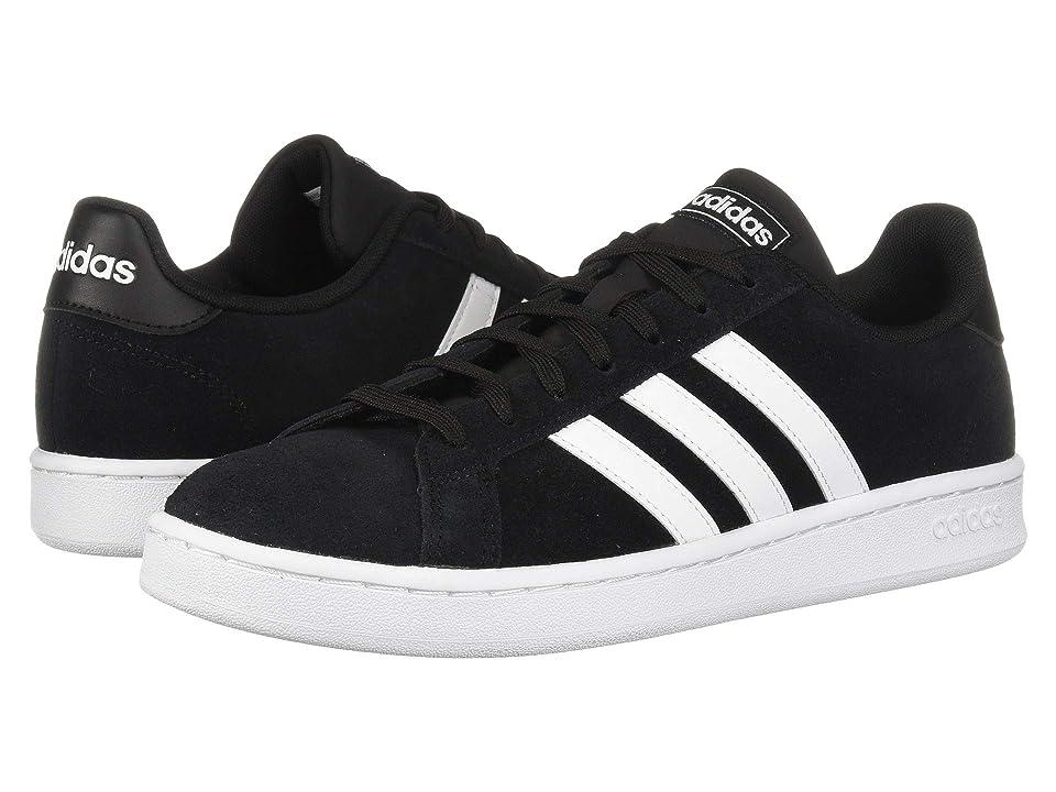 adidas Grand Court (Core Black/Footwear White/Footwear White) Men