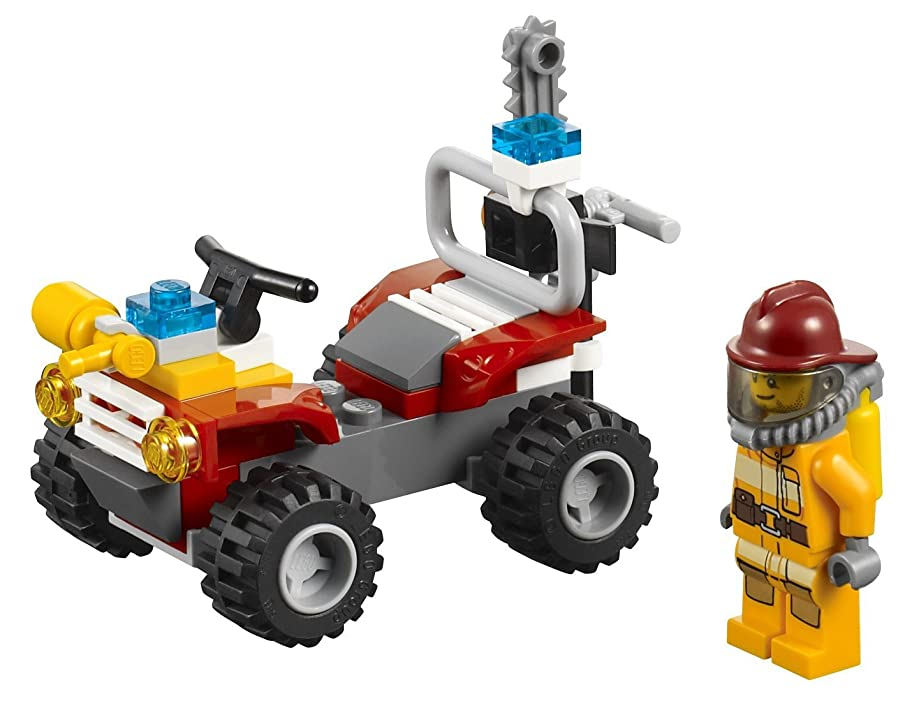 LEGO CITY Fire ATV Kids Firefighter 4-Wheeler Playset | 4427