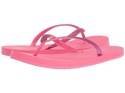 Reef Kids Little Stargazer (Infant/Toddler/Little Kid/Big Kid) (Hot Pink) Girls Shoes