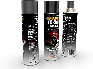Fukken Wax Premium Spray-On Car Wax with Improved Formula. Big 17.05oz Aerosol Can Carnauba from Brazilian Palm. Get Brighter, Longer Lasting Shine (2 Cans)
