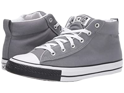 Converse Chuck Taylor All Star Street Mid (Cool Grey/White/Black) Shoes