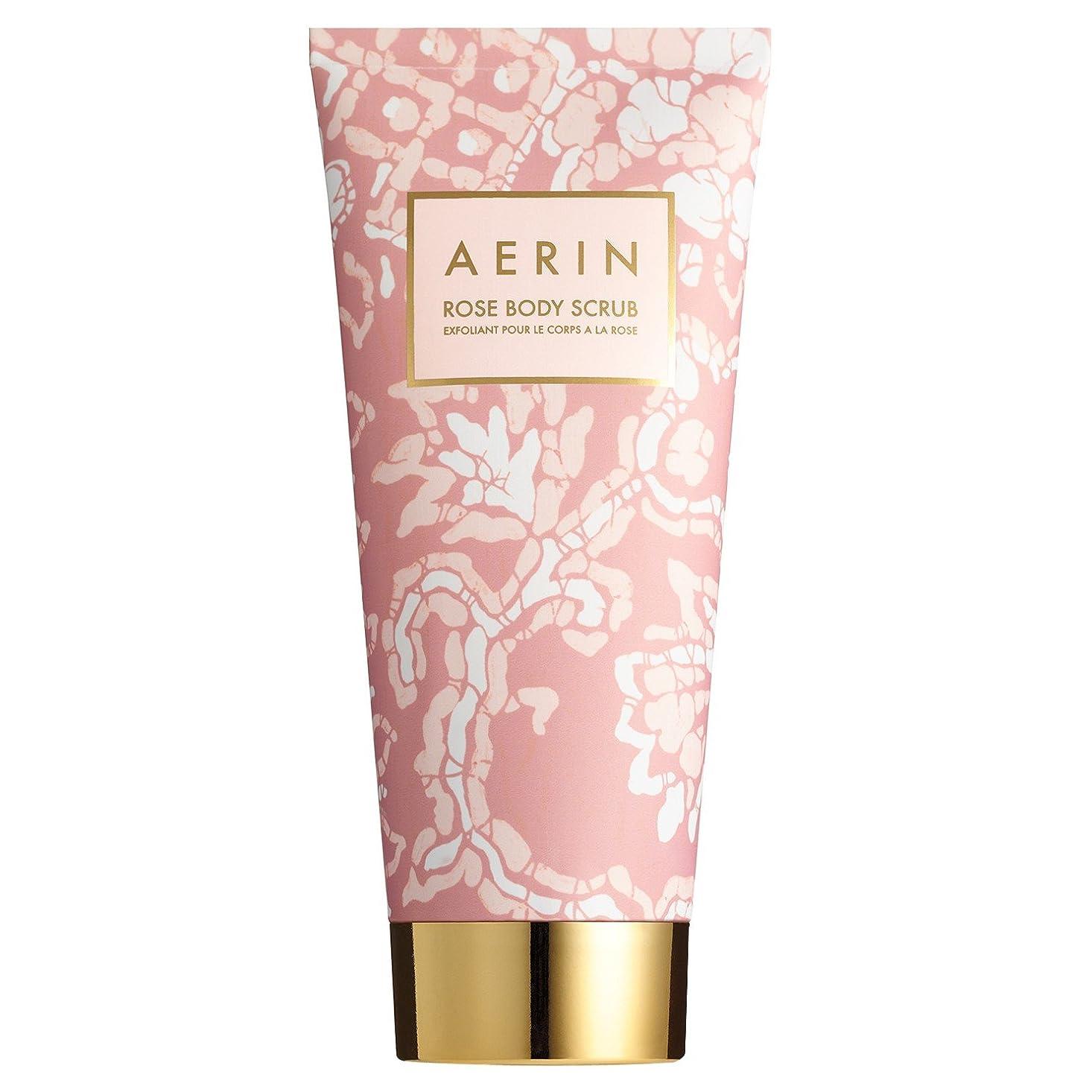 製造見せます欠席Aerinは、スクラブ200ミリリットルをバラ (AERIN) (x6) - AERIN Rose Scrub 200ml (Pack of 6) [並行輸入品]