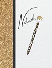 Noted.: Composition Notebook, Journal, Large size 8.5x11 Inches, 200 Pages, Ruled Paper with Subject and Date Area on the ...