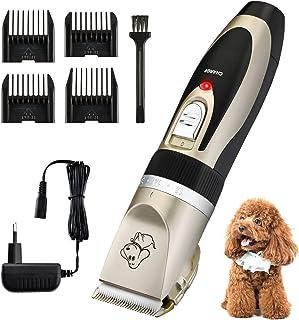 OMORC - Cortapelos para Perro y Gato, Bajo Ruido y Vibración, Máquina de Cortar