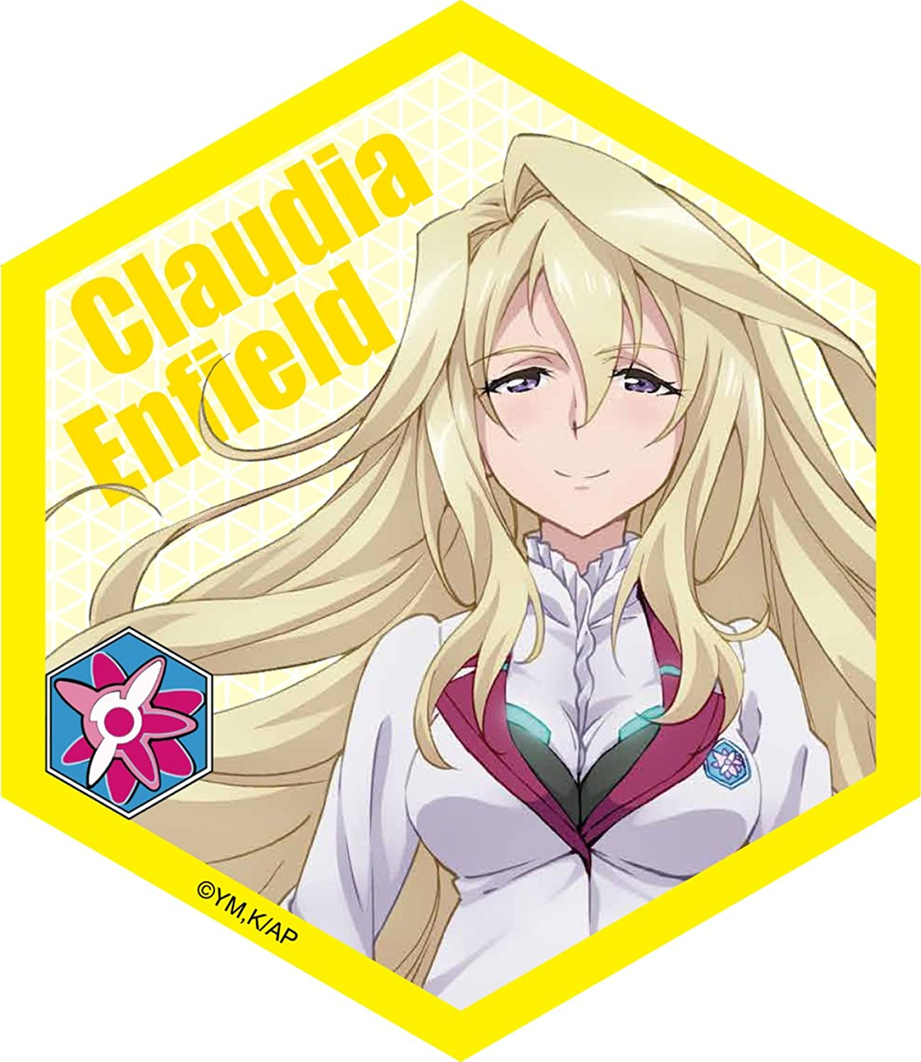Battle city asterisk Hani Mag series magnetic sheet Claudia Enfield