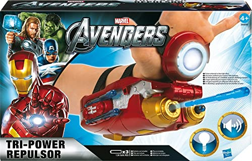 Hasbro - 366991860 - Figurine - Avengers - Iron Man - Arme Electronique