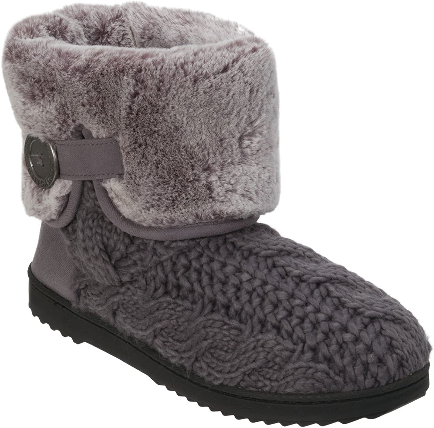 Dearbems Cable Cable Cable Knit Boot w  Plush Cuff  erbjuder 100%