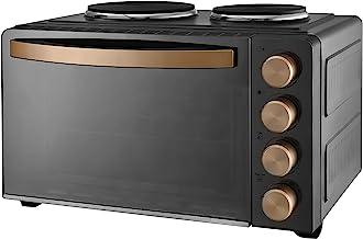 Kalorik TKG MK 1003 Petite cuisine avec four 36 x 28 x 22,4 cm, 2 plaques de cuisson, capacité 28 l, chaleur supérieure et...
