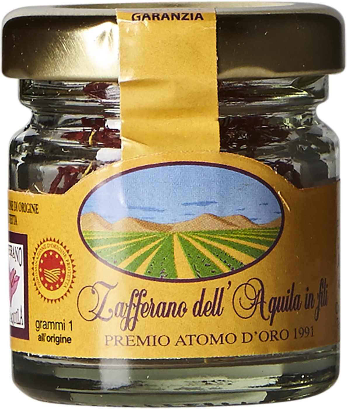 Saffron Threads DOP L'Aquila – g latest Abruzzo 1 Max 90% OFF Italy -