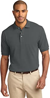 Port Authority - Tall Pique Knit Polo.
