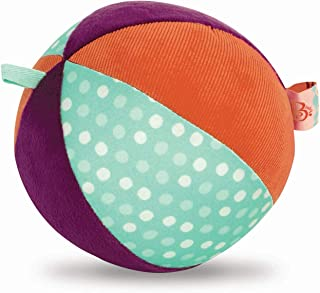 B. toys by Battat B. Toys – Make It Chime – Large Fabric Ball with Chiming Bell – Sensory Toy with Colors