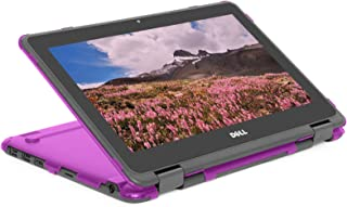 """mCover Hard Shell Case for 2019 11.6"""" Dell Chromebook 3100 2-in-1 Education (360-degree Hinge) Laptop (NOT Compatible with..."""