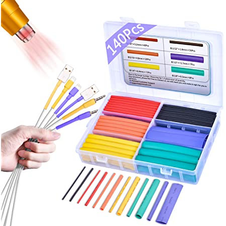 Heat Shrinkable Wire Wrap Set-24-piece