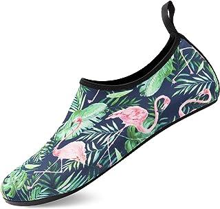 أحذية مياه أسيدموند للنساء الرجال بيرفوت سريعة الجفاف جوارب المياه المائية الصيف بير فوت للشاطئ السباحة تصفح اليوغا
