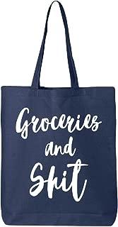 groceries and shit bag