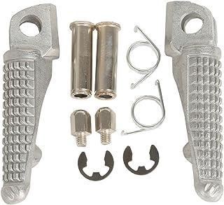 XMT MOTOR Motorrad Vorne Fahrer Fußrasten Fußstütze footrest für Kawasaki ZX 6R '03 '13 ZX 9R '98 '03 ZX 10R '04 '13 Z750 Z750S Z1000 '07 '13 ER6N ER6F NINJA 650R '09 '13