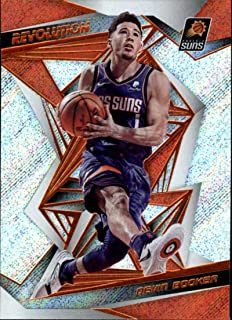 2019-20 Panini Revolution Basketball #65 Devin Booker Phoenix Suns Official NBA Trading Card (Scan Streaks are NOT on the card)