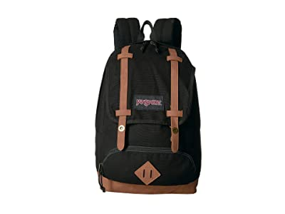 JanSport Baughman (Black Canvas) Backpack Bags