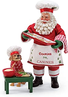 Department 56 Santa and His Pets Cookies for Canines Figurine, 11