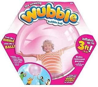 WUBBLE The Amazing Bubble Ball - Looks Like a Bubble, Plays Like a Ball! Pink