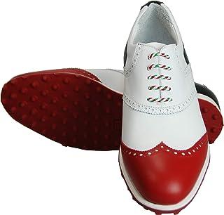 ATELIER GUAROTTI Scarpe da golf da uomo italiane fatte a mano – Swing (senza tacchetti) - Su misura – St Andrews