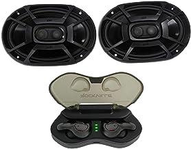 $134 » 2 Polk Audio DB692 6X9 450w Car Audio Marine/ATV/Motorcycle Speakers+Cyberbuds