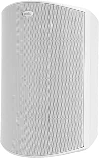 Polk Audio Atrium 8 SDI Flagship Outdoor Speaker (White) - Use as Single Unit or Stereo Pair | Powerful Bass & Broad Sound Coverage | Withstands Extreme Weather & Temperature