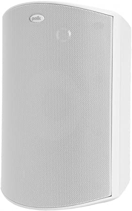 Polk Audio Atrium 8 SDI Flagship Outdoor Speaker (Single, White) | Powerful Bass & Broad Sound Coverage | Withstands Extreme Weather & Temperature