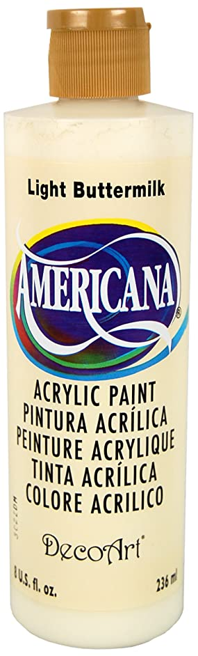 DecoArt DA164-9 Americana Acrylics, 8-Ounce,Light Buttermilk