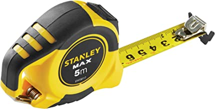 STANLEY STHT0-36117 Flexómetro 5 m x 25 mm-gancho magnético