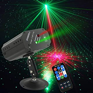Party Lights DJ Lights, Disco Stage lights Strobe lights dj equipment for Stage Lightingwith Remote Control for Dancing Thanksgiving KTV Birthday …