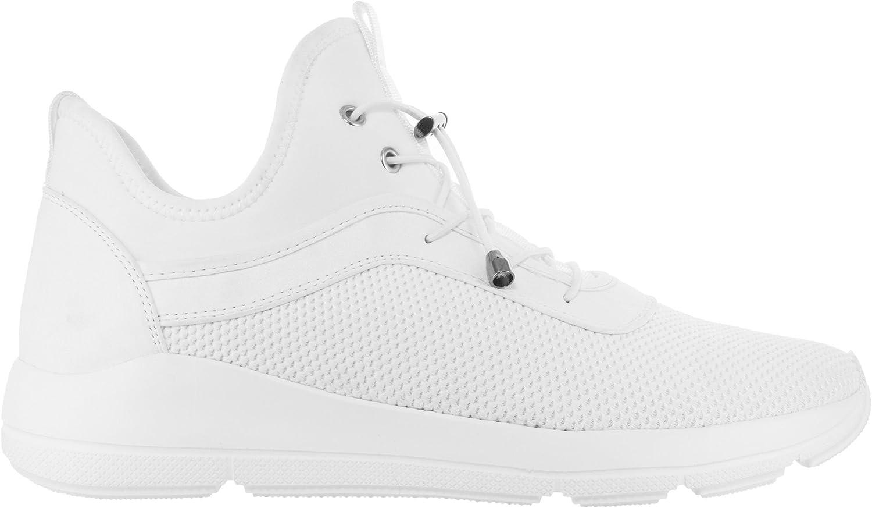 Vlado Footwear Men's Vince Mesh Upper and Nubuck Low Top Sneaker Black