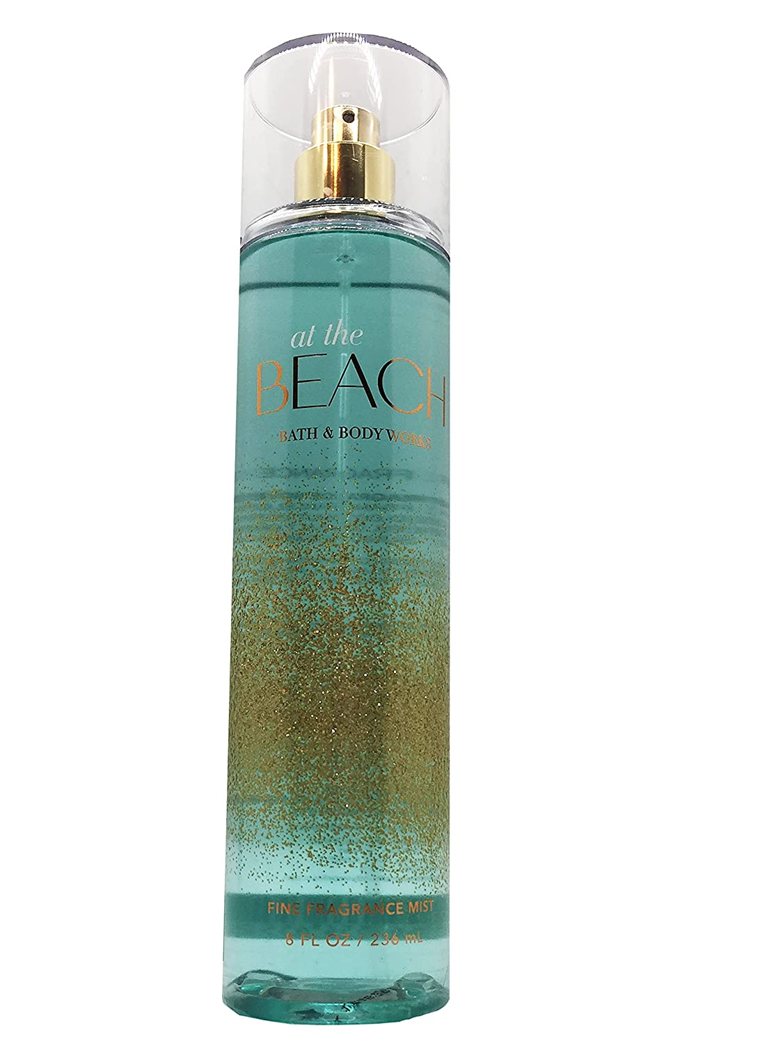 Bath and Body Works ! Super beauty product restock quality top! AT THE BEACH Fine Fluid 8 Fragrance Oun Mist Industry No. 1