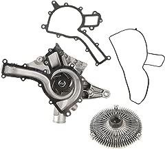 MOCA AW9379 New Engine Water Pump With Fan Clutch Kit for 1998-2008 Chrysler Crossfire 3.2L V6 GAS SOHC & 1998-2008 Mercedes-BenzG500 5.0L V6 GAS SOHC