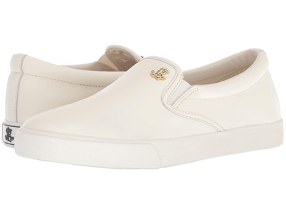LAUREN Ralph Lauren Ria (Artist Cream Super Soft Leather) Women