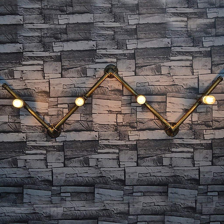 Gorkuor Wandleuchte Wandlampe Große Eisen Metall Wandleuchte Handwerk Wasserpfeifen Wandlampe Bar Dekoration Lampen Originalität by B07K2TYHV5     | Am wirtschaftlichsten