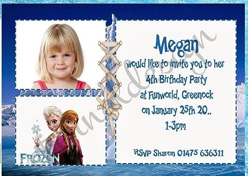 colores increíbles Eternal Design KBPI 5 - Invitaciones de cumpleaños para Niños Niños Niños  la mejor oferta de tienda online