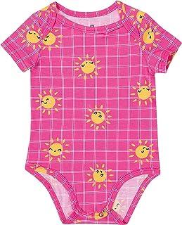 Body Sol Infantil Em Malha Malwee Kids, Rosa Escuro, criança-unissex, 1