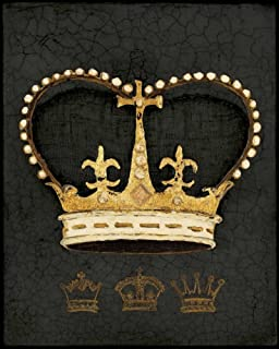 Posterazzi Collection Royal Crown Poster Print by Arnie Fisk (12 x 10)