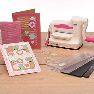 Vaessen Creative Mini-Machine de Découpe et Gaufrage Kit de Démarrage
