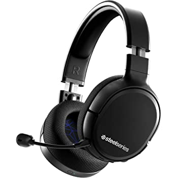SteelSeries Arctis 1 Wireless Gaming Headset - USB-C Wireless - Detachable Clearcast Microphone - for PS4, PC, Nintendo Switch and Lite, Android - Black - Playstation 4