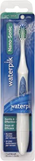 Waterpik Nano Sonic Toothbrush, White with Blue Accents