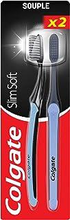 Colgate Slim Soft Active Kömür Diş Fırçası, 2 Adet